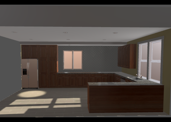 3D Kitchen (Unity)