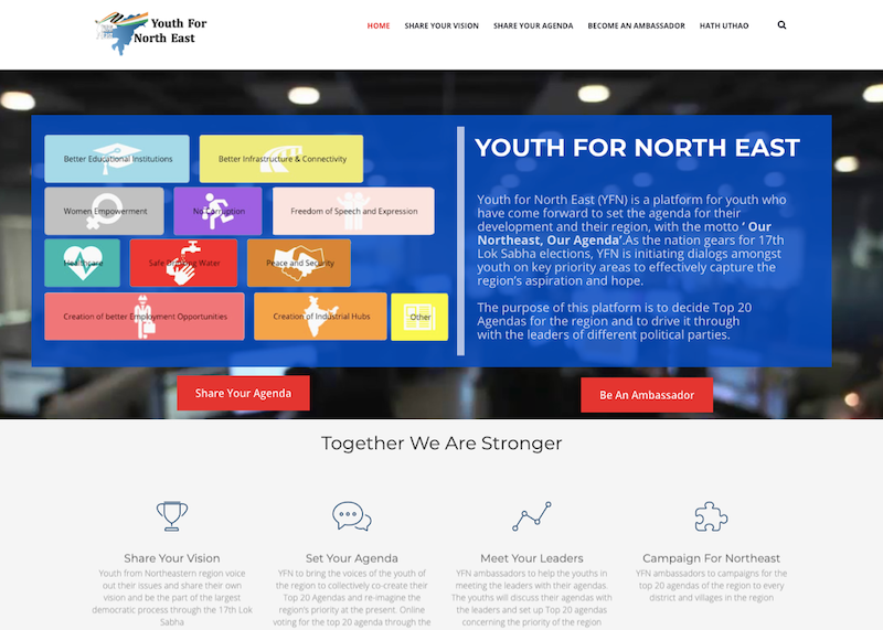 Youth For NorthEast