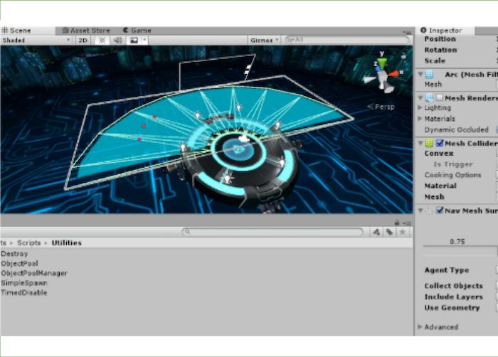 Laser Cop (VR Game)