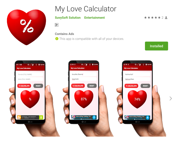 My Love Calculator