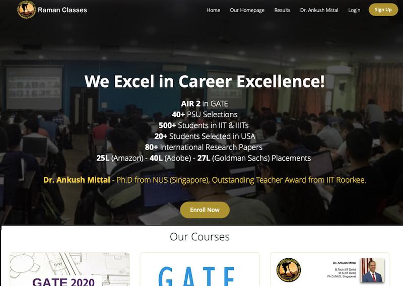 Raman Classes Online
